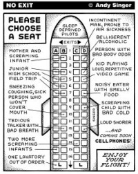 Airplane Seating Chart
